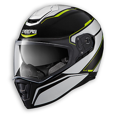 Drift Tour Helmet black-white-yellow fluo Caberg