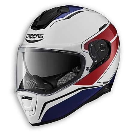 Drift Tour Helmet white-red-blue Caberg