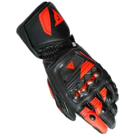 Druid 3 gloves black red fluo Dainese