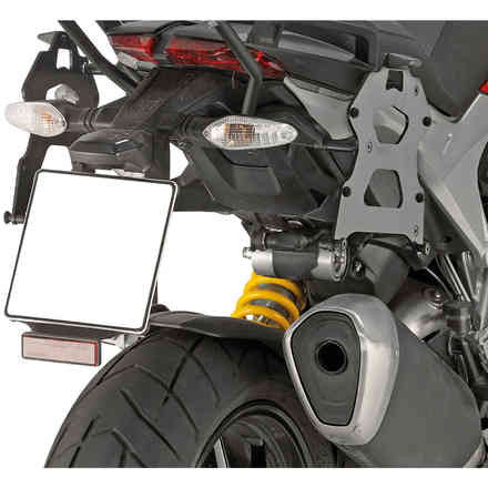 Ducati Hyperstrada Side Tray Givi
