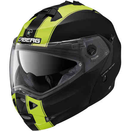 Duke II Legend helmet matt black yellow fluo Caberg