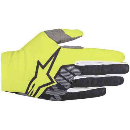 Dune-2 glove  yellow Fluo black Alpinestars