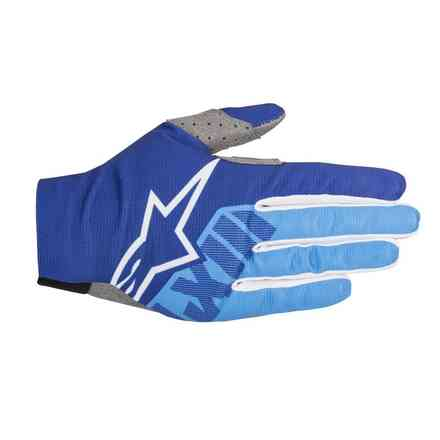 Dune-2 gloves Blue Aqua Alpinestars