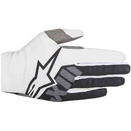 Dune 2 gloves white black Alpinestars