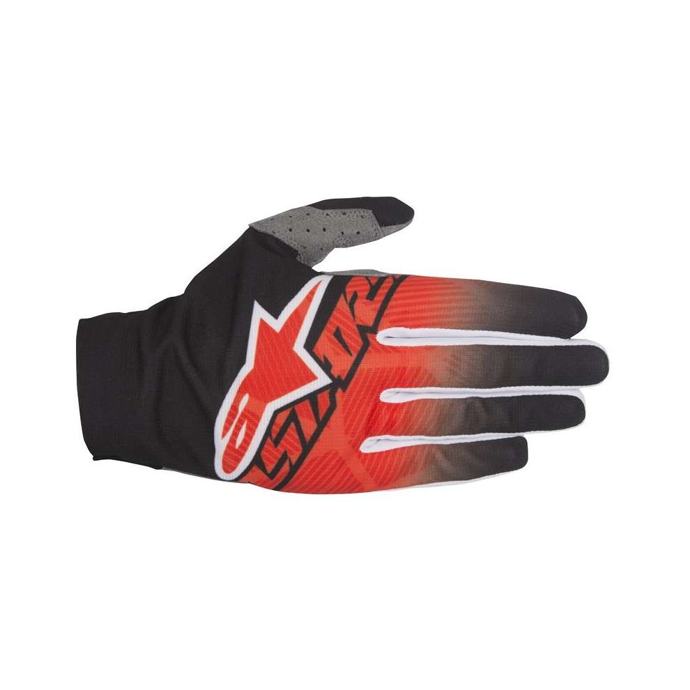 Dune  2017 Gloves black red white Alpinestars