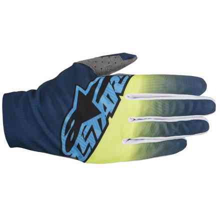 Dune  2017 Gloves blue yellow Alpinestars