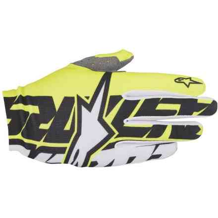 Dune  2017 Gloves yellow black white Alpinestars
