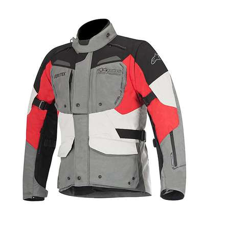 Durban Gore-tex Jacket grey-black-red Alpinestars