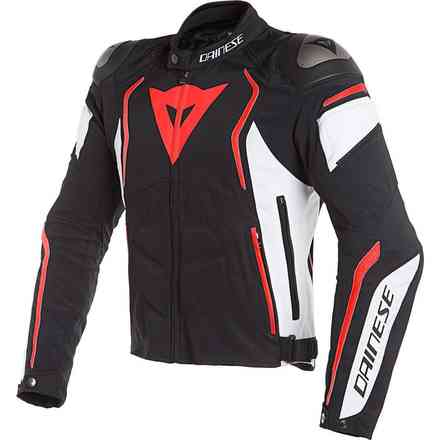 Dyno Tex black white red fluo Dainese