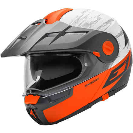 E1 Crossfire Orange Helmet Schuberth