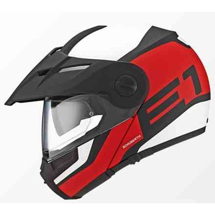 E1 Guardian red Helmet Schuberth