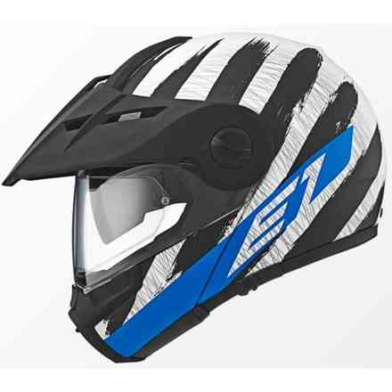 E1 Hunter Blue Helmet Schuberth