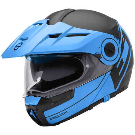 E1 Radiant Blue Helmet Schuberth