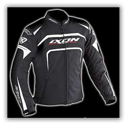 Eager  Black /White  Jacket Ixon