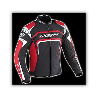 Eager  Black /White/Red  Jacket Ixon