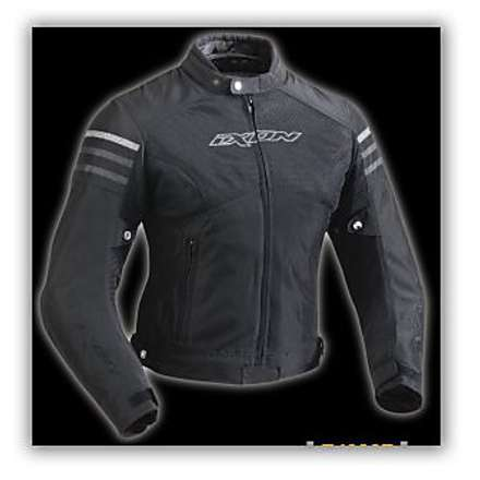 Electra  Black / Silver Lady Jacket Ixon