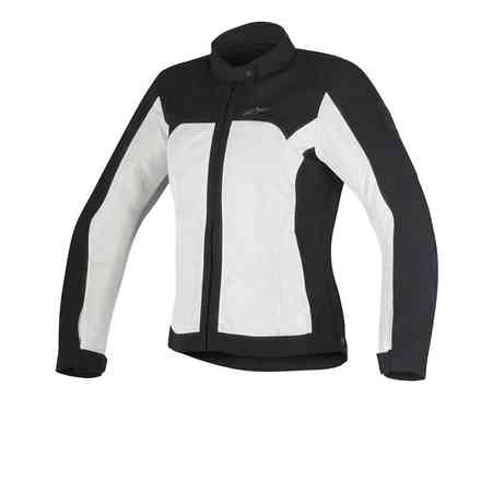 Eloise Lady Air Jacket Black light grey Alpinestars