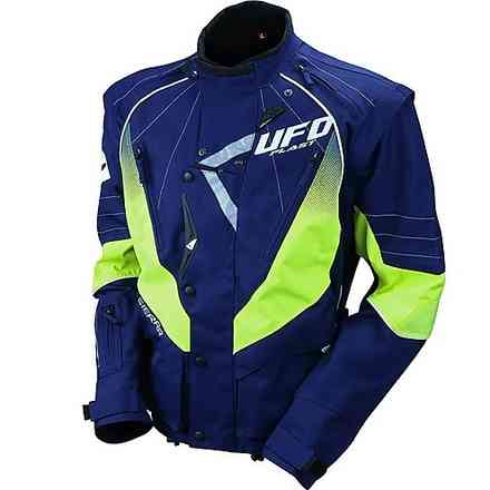Enduro Jacket Blu Giallo Ufo