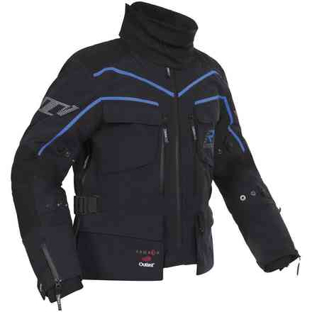Energater Gtx jacket black blue RUKKA
