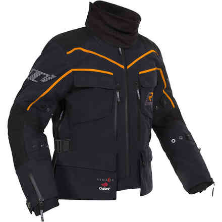 Energater Gtx jacket black orange RUKKA