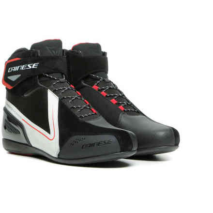 Energyca D-Wp Shoes Blk / Wht / Lava-Red Dainese