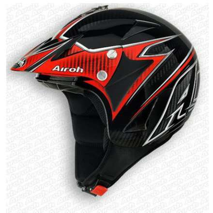 Evergreen Carbon Helmet Airoh
