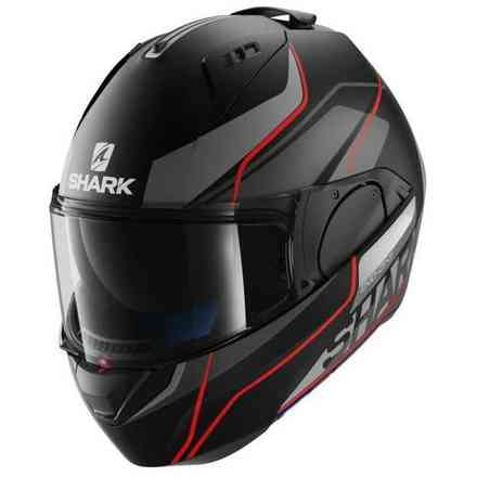 Evo-One Krono Mat black-red Helmet  Shark