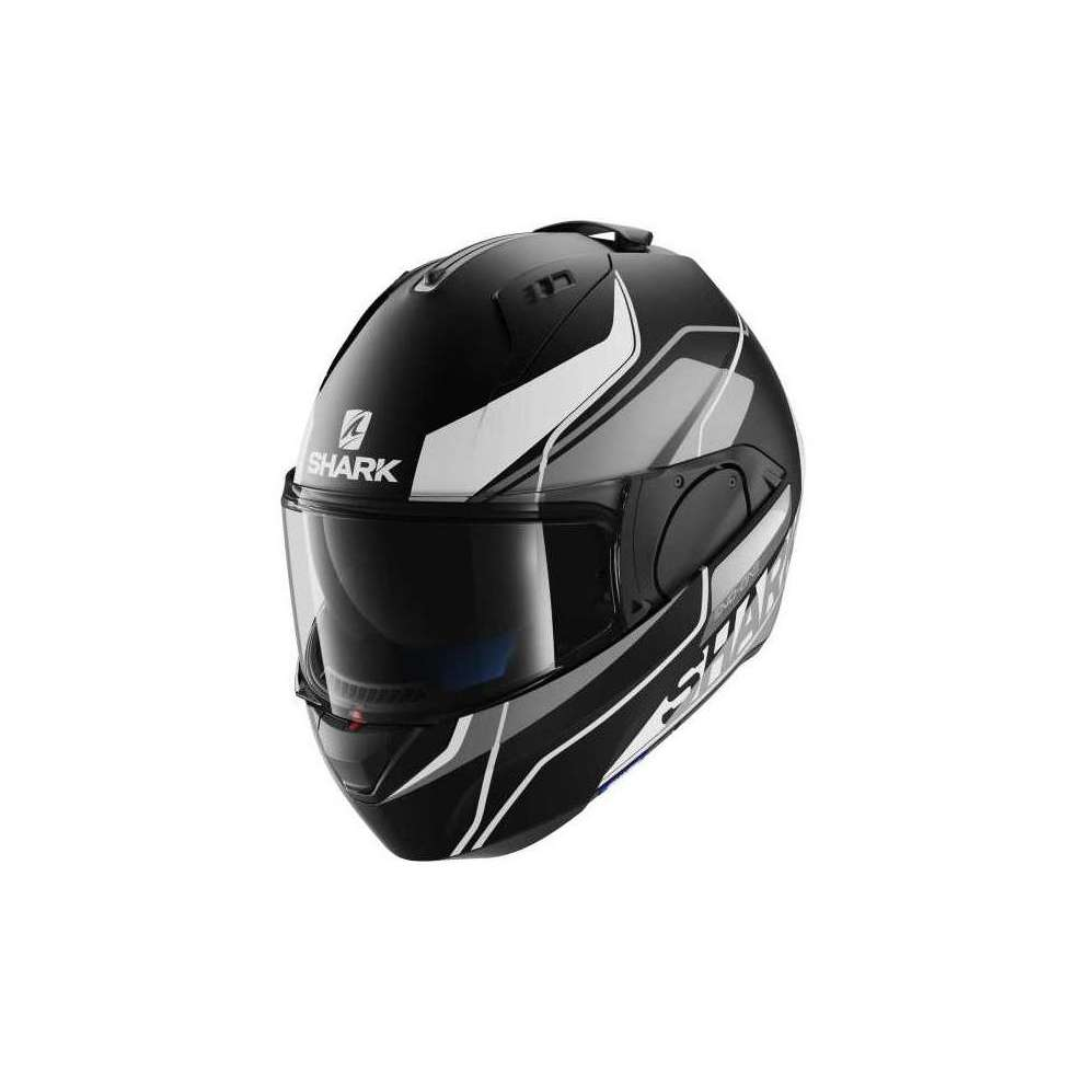 Evo-One Krono Mat black-white Helmet  Shark