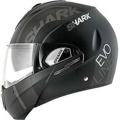 Evoline 3 Drop Mat Helmet  Shark