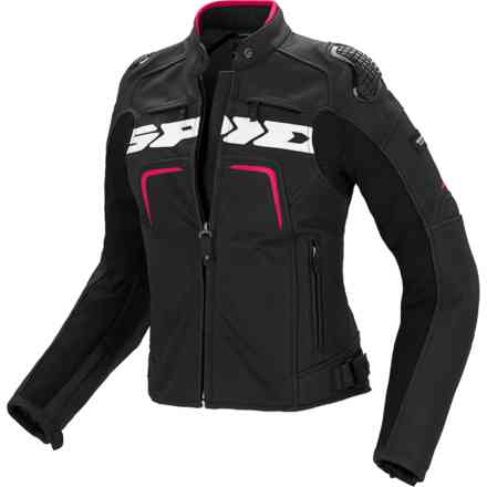 Evorider Lady jacket black fuchsia Spidi
