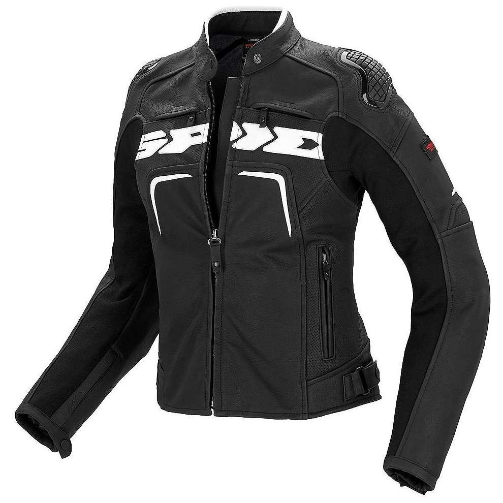 Evorider lady Leather  Jacket Spidi