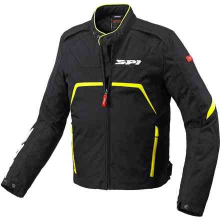 Evorider Tex black yellow fluo Jacket Spidi