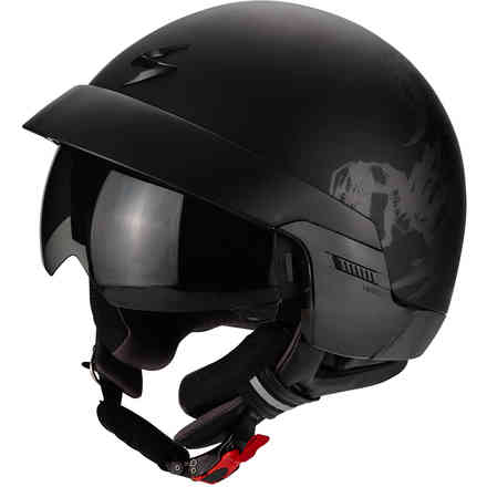 Exo-100 Scorpion helmet Matt Black Scorpion