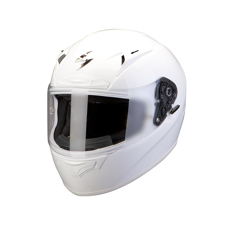 Exo-2000 Evo Air Solid Helmet White Pearl Scorpion