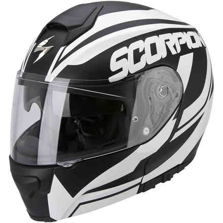 Exo-3000 Air  Serenity black-white Helmet Scorpion