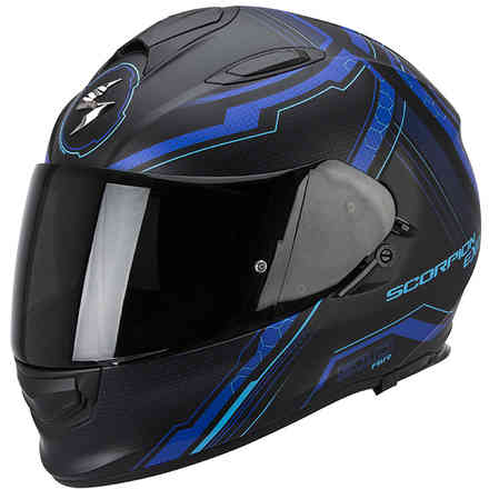 Exo -510 Air Sync black-blue Helmet Scorpion