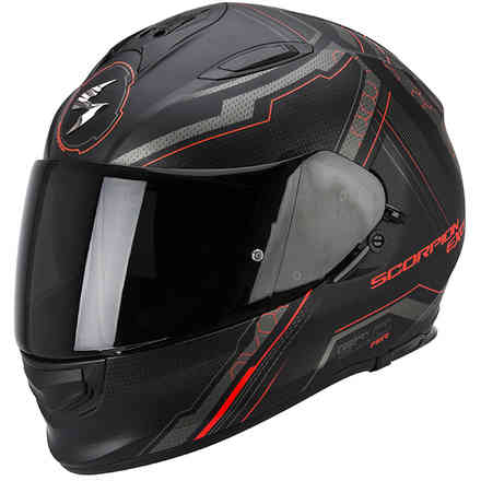Exo -510 Air Sync black-red Helmet Scorpion