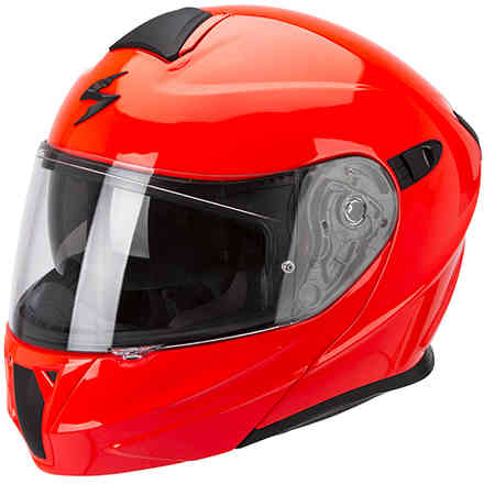 Exo-920 Solid fluo red Helmet Scorpion