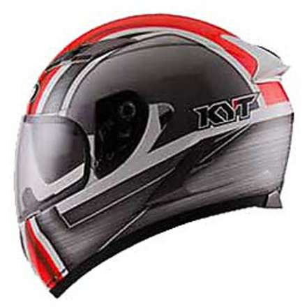 Falcon Sim White-Red helmet KYT