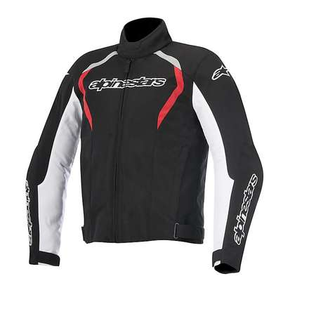 Fastback WP Jacket black-white-red Alpinestars
