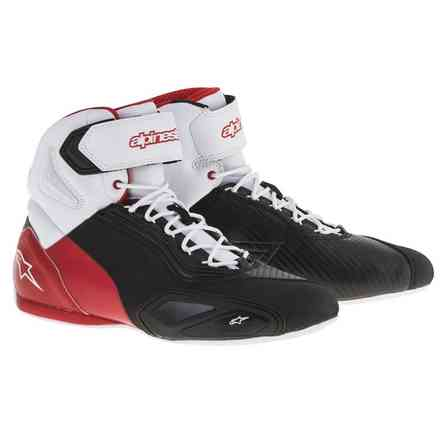 Faster 2 black-white-red Shoe Alpinestars