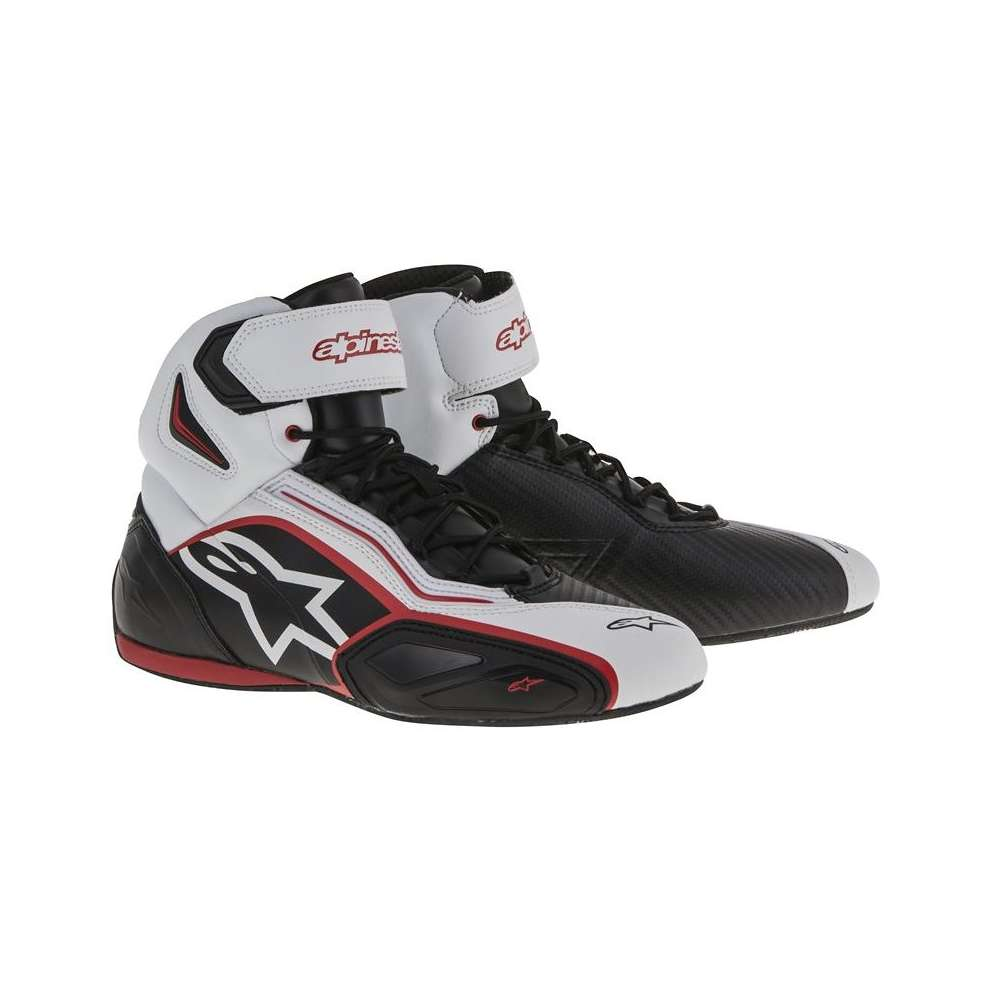 Faster 2 black-white Shoe Alpinestars