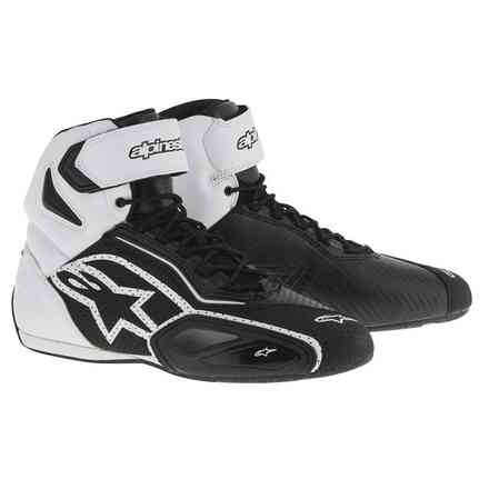 Faster 2 vented black-white Shoe Alpinestars