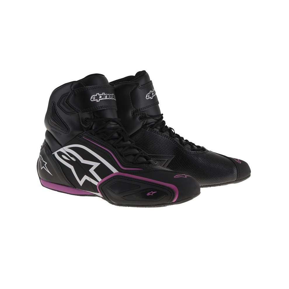 Faster 2 Waterproof lady Shoe black fuchsia Alpinestars