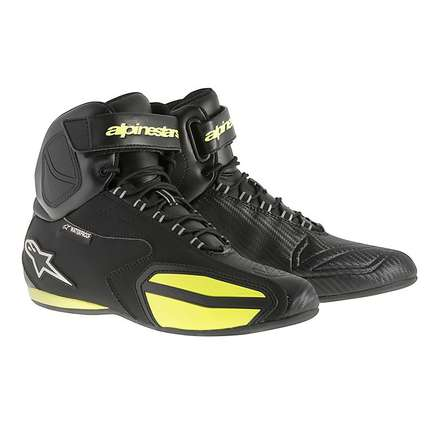Faster Wp shoes 2015 black-yellow fluo Alpinestars