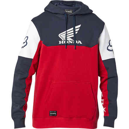Felpa Fx Honda Fleece Navy/Red Fox