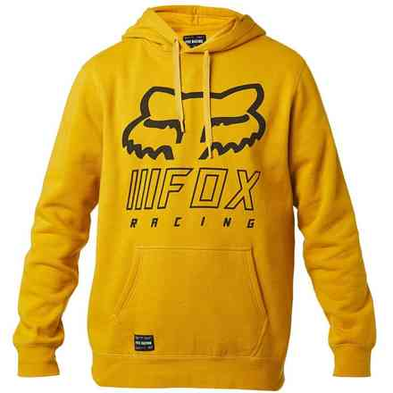 Felpa Fx Overhaul Pullover Fleece giallo Fox
