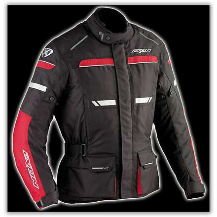 Fjord  Black /Red  Jacket Ixon