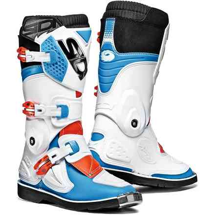 Flame Boots White / Blue / Red Sidi