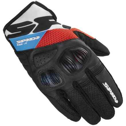 Flash-R Evo Red blue Gloves Spidi